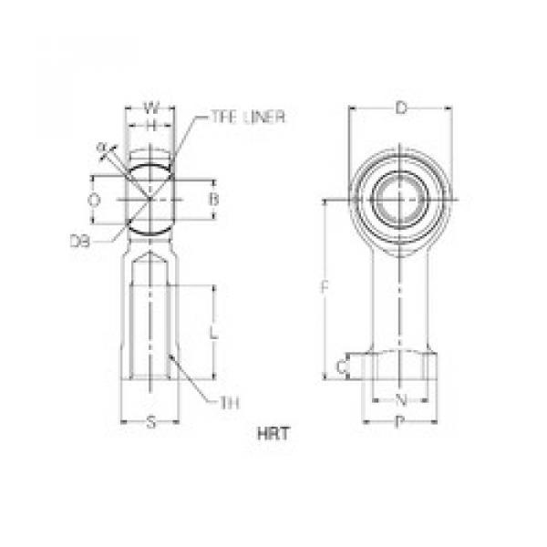 Rodamientos HRT25 NMB #1 image