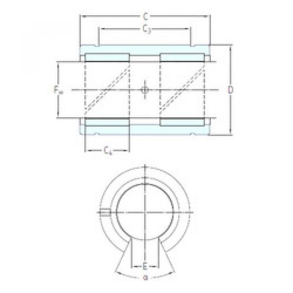 Rodamientos LPAT 25 SKF #1 image