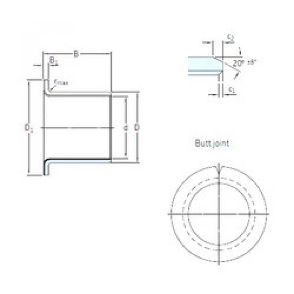 Rodamientos PCMF 081005.5 E SKF #1 image