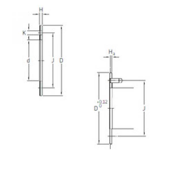 Rodamientos PCMW 527802 M SKF #1 image