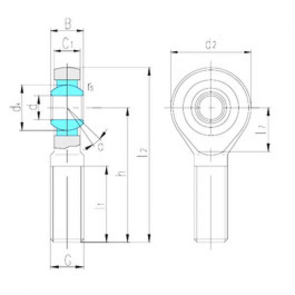 Rodamientos SA45ES LS #1 image