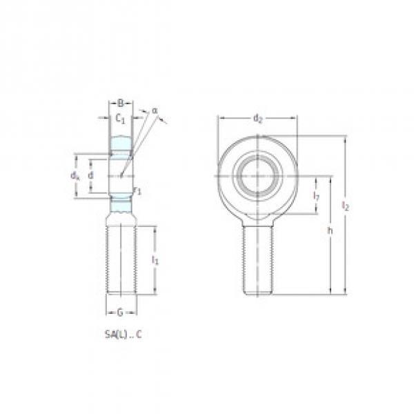 Rodamientos SA30C SKF #1 image