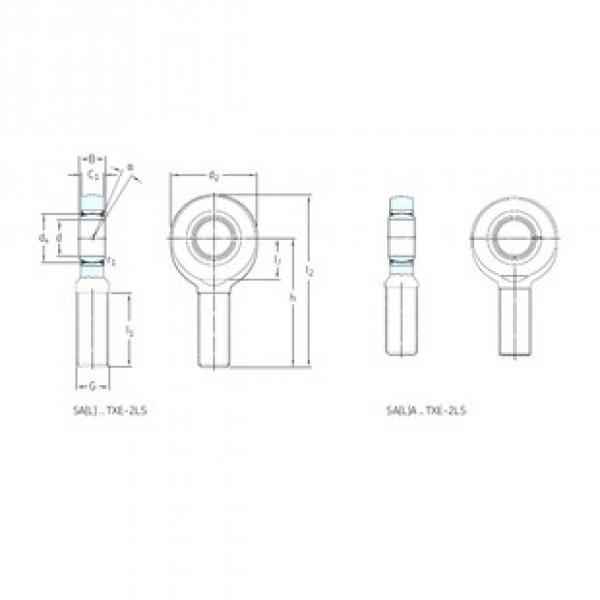 Rodamientos SA70TXE-2LS SKF #1 image
