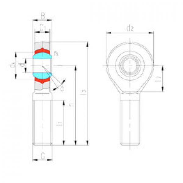 Rodamientos SABP5N LS #1 image