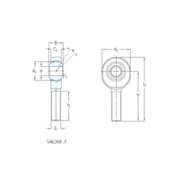 Rodamientos SALKB6F SKF #1 image